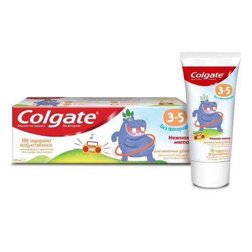 Колгейт Зубная паста для детей 3-5 Нежная мята 60мл