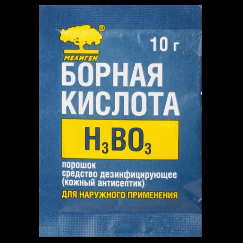Борная кислота порошок пакет 10г