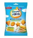 ФрутоНяня Печенье Мультизлаковое обогащенное витаминами/миниралами 50г