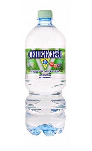 Сенежская Вода питьевая минеральная негазированная 1л