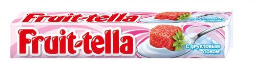 Фруттелла жевательные конфеты Клубничный Йогурт, 41г