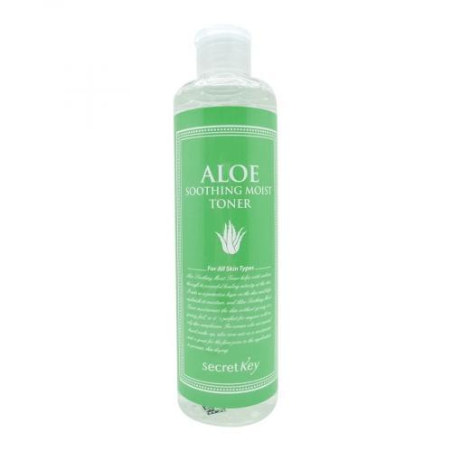 СикретКей/Secret Key Увлажняющий тонер для лица с 98% экстрактом алоэ вера Aloe Soothing Moist Toner 248 мл