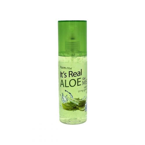 FarmStay Увлажняющий гель-мист с экстрактом алоэ It's Real Gel Mist Aloe 120мл