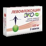 Левофлоксацин Эколевид таблетки 500мг №5