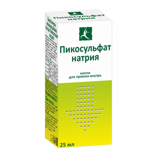 Пикосульфат натрия капли флакон 25мл