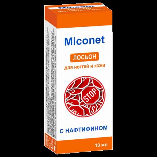 Лосьон для ногтей и кожи с нафтифином Миконет 1% 10мл