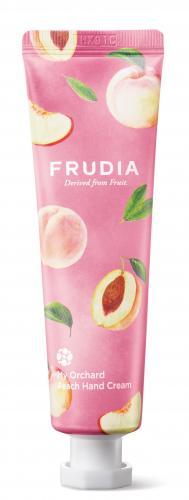 FRUDIA Крем для рук c персиком Squeeze Therapy Peach Hand Cream 30 мл