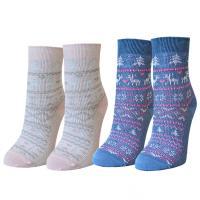 Носки женские жаккардовое плетение размер р.36-40 ( 23-25 см )