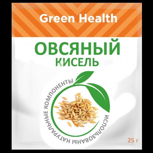 Грин Хэлф Кисель Овсяный без сахара 20г