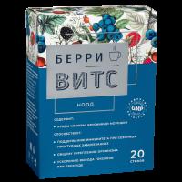 Горячее питье БерриВитС Норд с витамином С и цинком стик 5г №20
