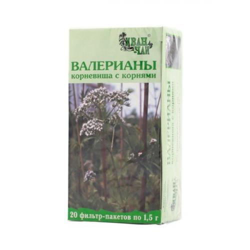 Валериана корневища с корнями фильтр-пакеты 1,5г №20
