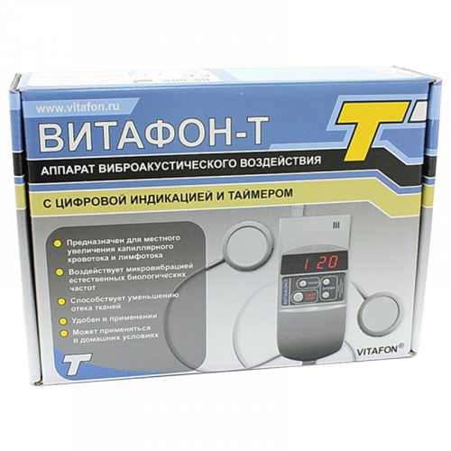 Аппарат Витафон-Т виброакустический/цифровой индикатор/таймер