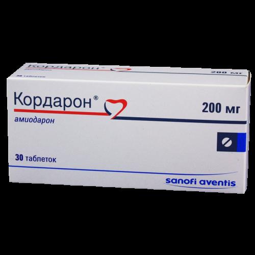 Кордарон таблетки 200мг №30