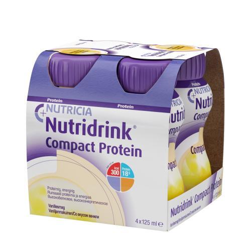 Нутридринк Компакт Протеин со вкусом Ванили 125мл 4шт