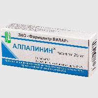 Аллапинин таблетки 25мг №30