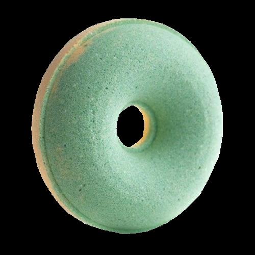 Пончик бурлящий с пенкой для ванны Яблоко 120г