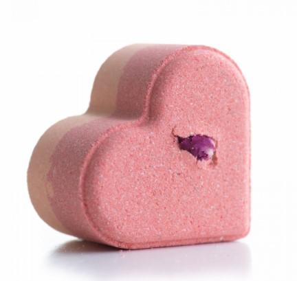 Сердце бурлящее для ванны Ванильный Смузи 110г
