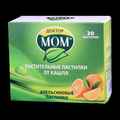 Доктор Мом пастилки Апельсин №20