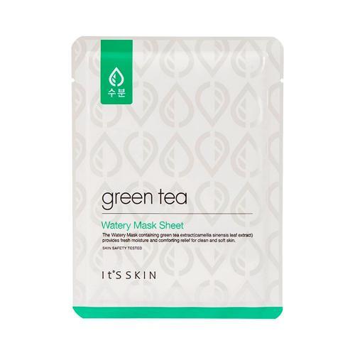 It's Skin Маска тканевая для жирной и комбинированной кожи с Зеленым чаем Green Tea Watery Mask Sheet 17г