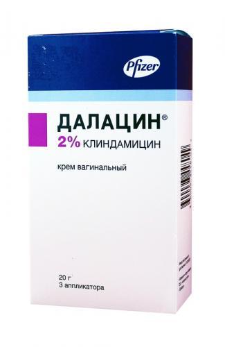 Далацин крем вагинальный 2% 20г