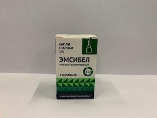 Эмсибел глазные капли 1% фл. 5мл