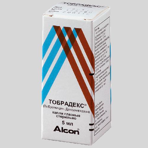 Тобрадекс глазные капли фл. 5мл