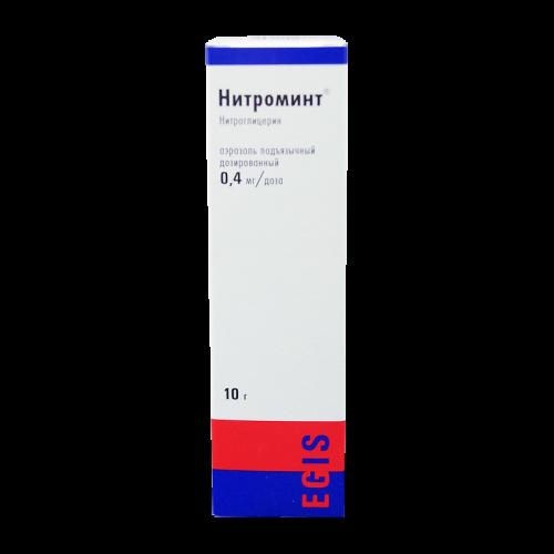 Нитроминт аэрозоль 400мкг/доза 180доз