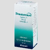 Траватан глазные капли 0,04 мг/мл фл. 2,5мл