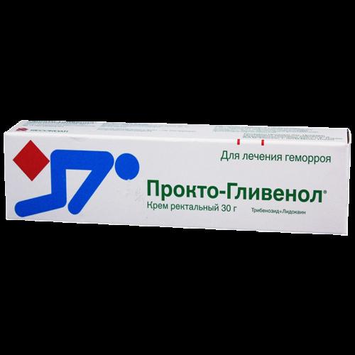 Прокто-гливенол крем 2% 30г