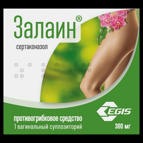 Залаин суппозитории вагинальные №1
