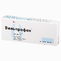 Вильпрафен таблетки 500мг №10