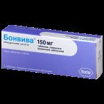 Бонвива таблетки 150мг №1