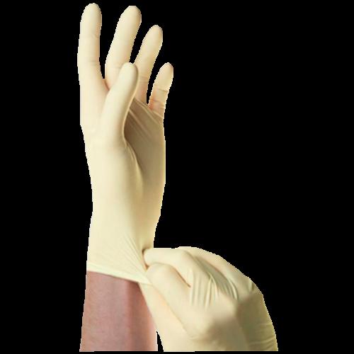 Перчатки хирургические стерильные анат. формы латексн. неопудр р.8,0