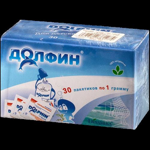 Долфин Срество детское для промывания носа пaкетики №30