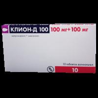 Клион Д таблетки вагинальные №10