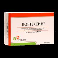 Кортексин лиофилизат для внутримышечного введения 10мг №10