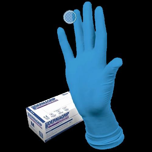 Перчатки Dermagrip high risk powder free см.нест. M
