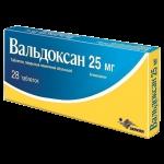 Вальдоксан таблетки 25мг №28