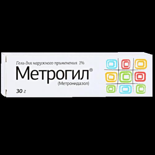 Метрогил гель 30г