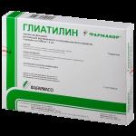 Глиатилин раствор для инъекций 1000мг/4мл ампулы 4мл №3