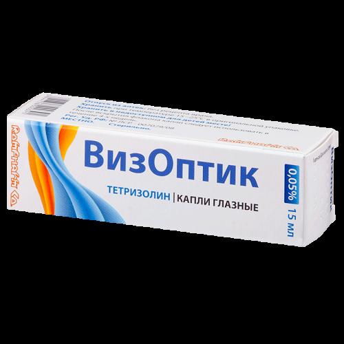Визоптик глазные капли 0,05% фл. 15мл
