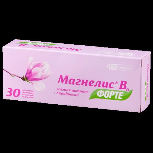 Магнелис В6 форте таблетки №30