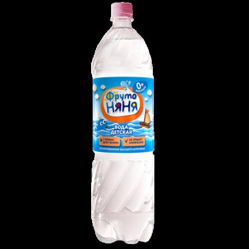 ФрутоНяня Вода питьевая 1.5л