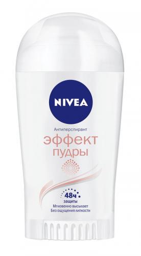Нивея Дезодорант стик Эффект пудры 40мл