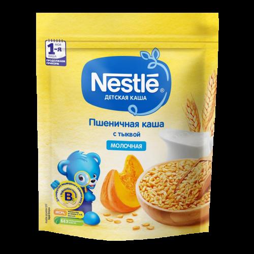 Нестле Каша молочная Пшеничная с тыквой 220г