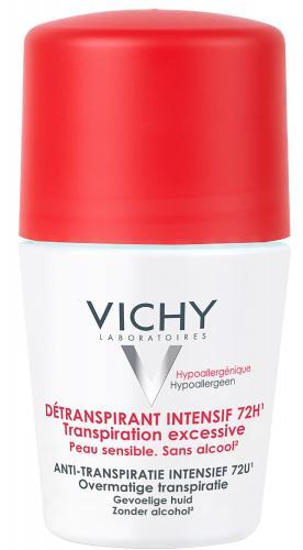 VICHY шариковый дезодорант анти-стресс защита 72 часа, 50 мл