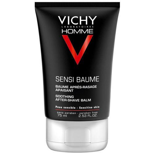 VICHY HOMME Sensi Baume Смягчающий бальзам после бритья, 75мл