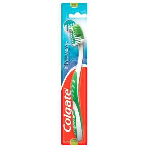 Колгейт Зубная щетка Массажер средней жесткости