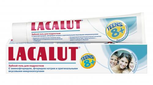 Лакалют Зубной гель Тинс 8+ 50мл