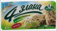 Козинак Тиняковъ на фрук. 4 злака Арахис/изюм 100г